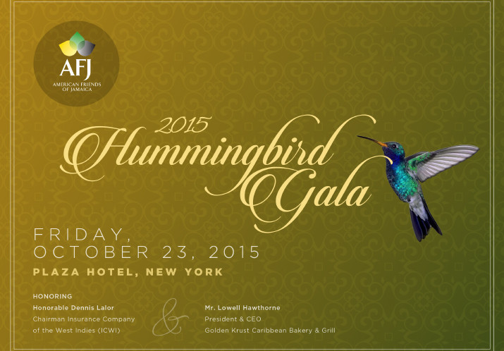 2015 Hummingbird Charity Gala