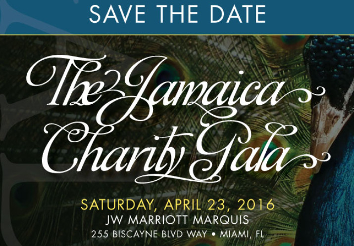 Jamaica Charity Gala, April 23 2016, JW Marriott Marquis, Miami.