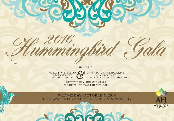 2016 Hummingbird Gala