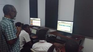 Alpha boys in studio