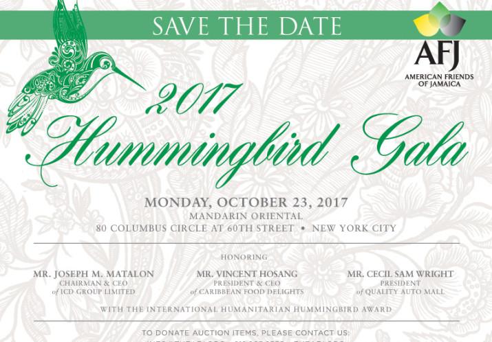 2017 Hummingbird Gala