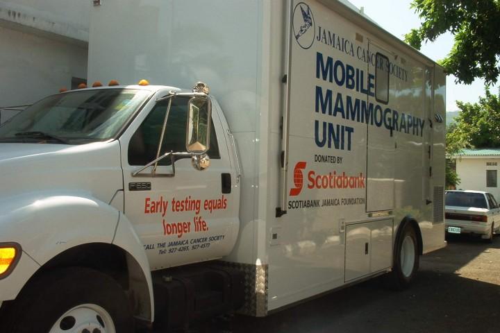 mammo truck