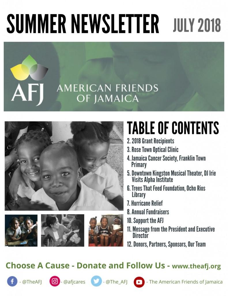 AFJ 2018 Newsletter final